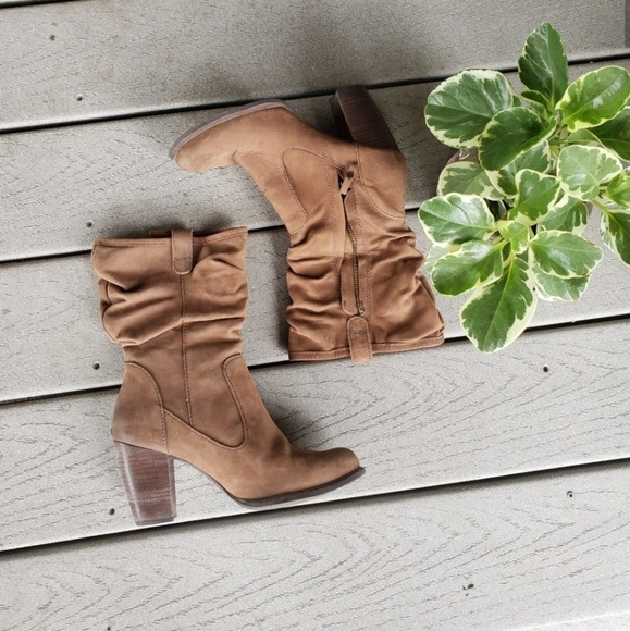UGG Shoes - Ugg Dayton Slouched Ruched Heeled Fall Booties
